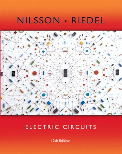 Electric Circuits (10th Edition) cover