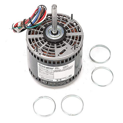 Motor de ventilador de condensador, 1/2 HP, marco 48Z: Amazon.es ...