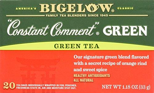 Bigelow Tea Constant Comment Green Tea -- 20 Tea Bags