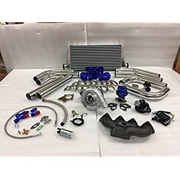 Honda Civic B Series B16 B18 B20 ZC T3T4 .63 Turbo Kit Intercooler BOV Manifold