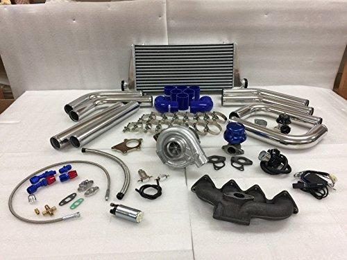 Civic B Series B16 B18 B20 ZC T3T4 .63 Turbo Kit Intercooler BOV Manifold (Acura Integra Turbo Kits)