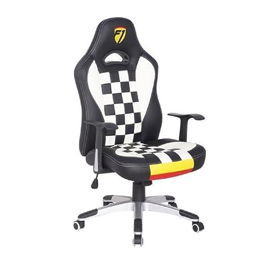 Sedia Ufficio F1.F1 Formula 1 Sport Racing Sedia Girevole Da Ufficio