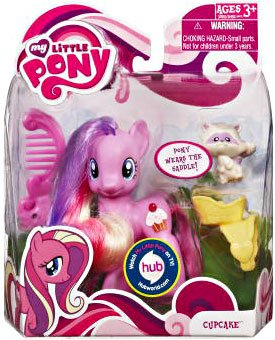 Amazon Com Hasbro My Little Pony Basic Figure Cupcake With Animal