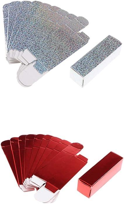 FLAMEER - Caja de papel para pintalabios, 20 unidades: Amazon.es: Belleza