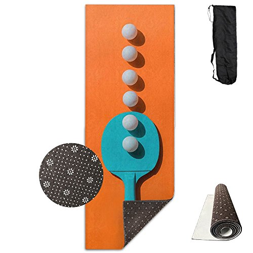 Fwyxx Concise Ping-pong Table Tennis Soft Exercise Yoga Mat by Fwyxx