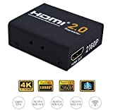 4K 2160P HDMI Repeater,Tekit 3D HDMI 2.0 Extender Booster Adapter,2160P 3D 4K HDMI Signal Repeater Extender Booster Adapter Over Signal HDTV 200ft Lossless Transmission