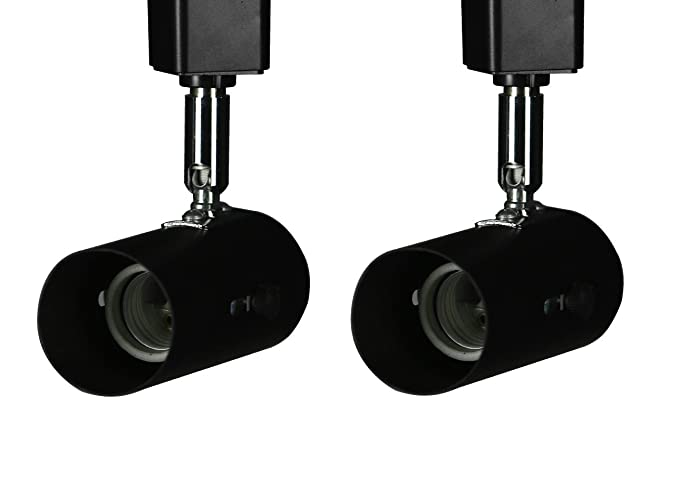 king sha 2 pack universal line voltage track lighting heads