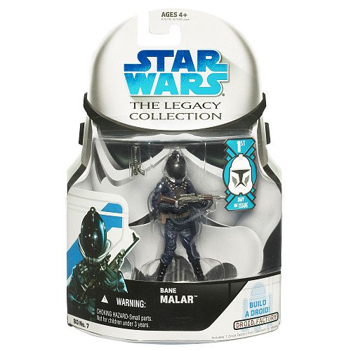 Star Wars Legacy Collection Wave 1 Bane Malar First Day Of Issue Action Figure