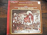 Manuel de Falla : l'amour sorcier / Le tricorne - Isabel Rivas , mezzo-soprano - Roberto Benzi - disque philips 6500 426