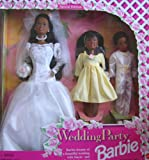 Barbie Wedding Party Deluxe Gift Set Special Edition w Barbie AA, Stacie AA & Todd AA Dolls (1994)
