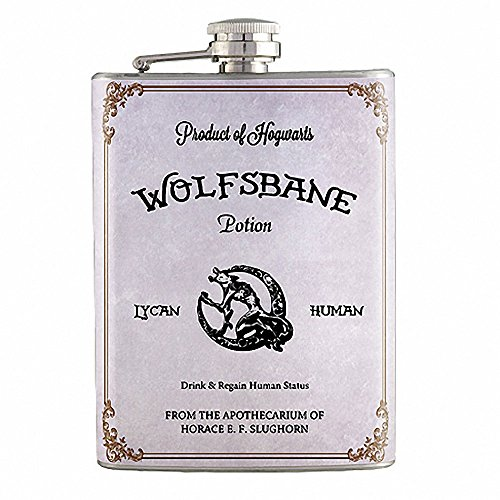 8oz – Wolfsbane Potion Harry Potter Flask