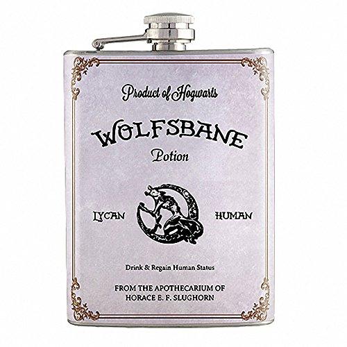 8oz - Wolfsbane Potion Harry Potter Flask