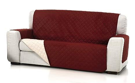 Belmarti Cubre Sofa Acolchado 1/P, Rojo, 1 Plaza: Amazon.es ...