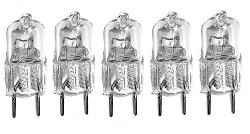 5pack - LSE Lighting G8 20W Short 33mm Halogen Bulb JCD Bi-Pin Light 20 watt 120 volt - 120v 20w Bulb