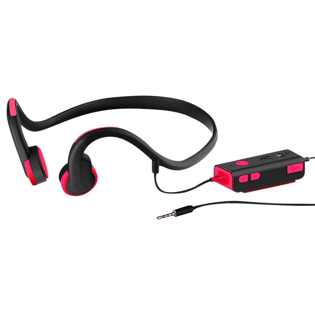 HCDjgh Bluetooth Earphone Noise canceling Bluetooth, Wired Bone Conduction Headphones Waterproof ♫♫
