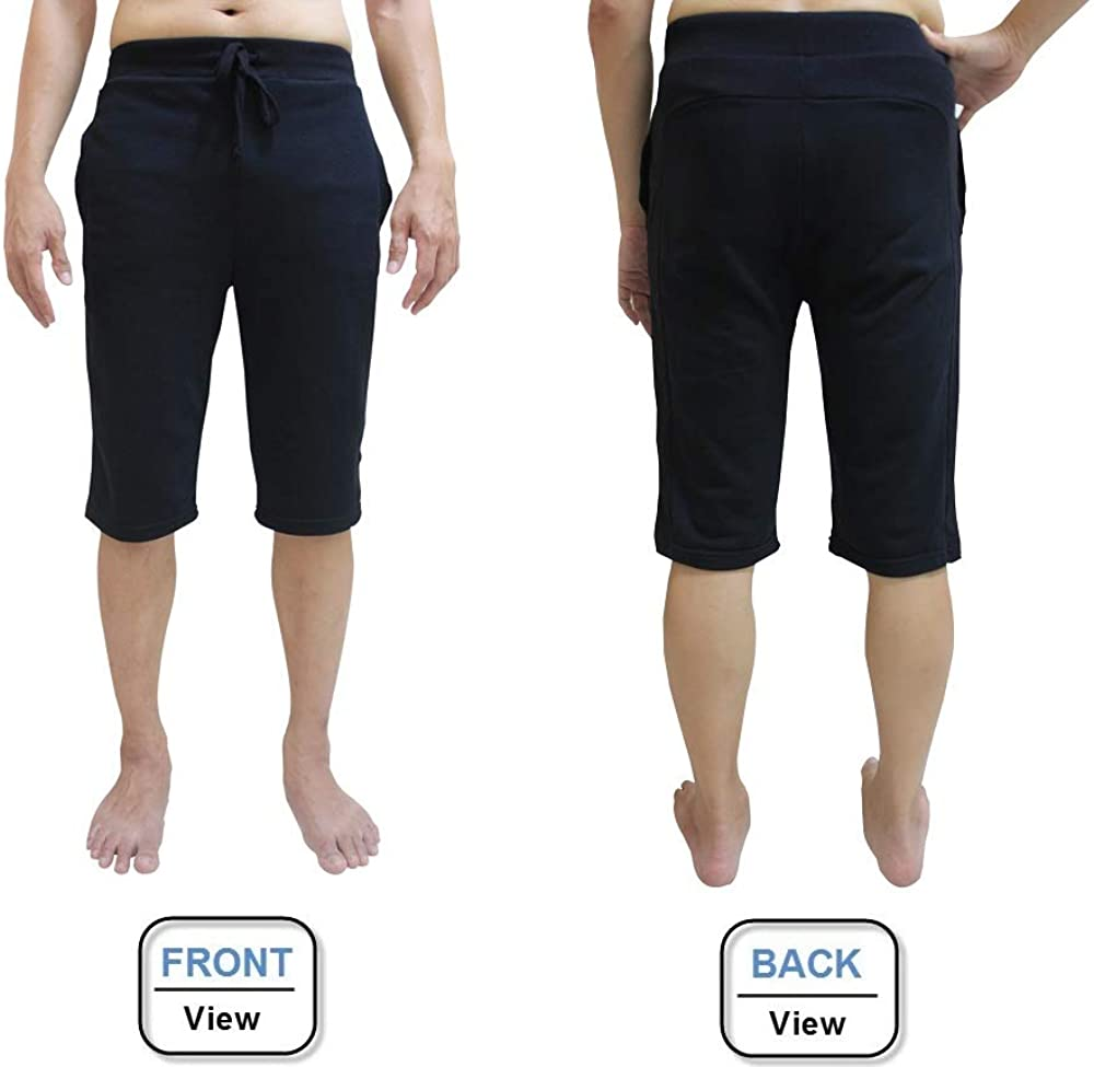 Ideal for Any Yoga Style and Pilates Premium Quality Gym Quick Dry YogaAddict Men Yoga Stretchable Short Pant
