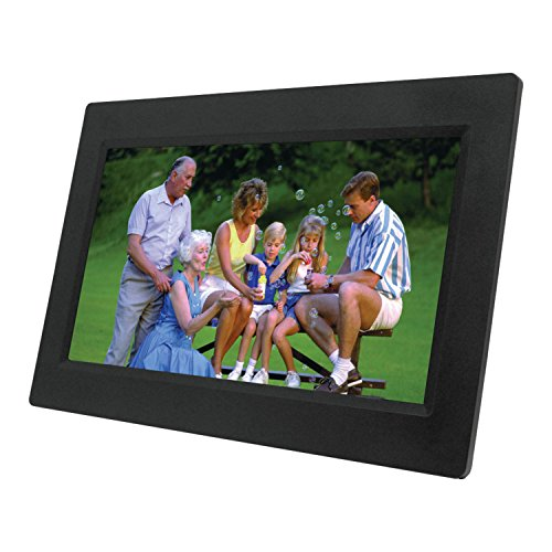 NAXA NF-1000 TFT LED Digital Photo Frame (10.1