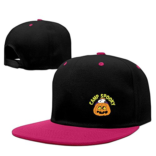 Funny Pregnanc Halloween Snoopy Humor Flat Bill Adjustable Hat Cool]()