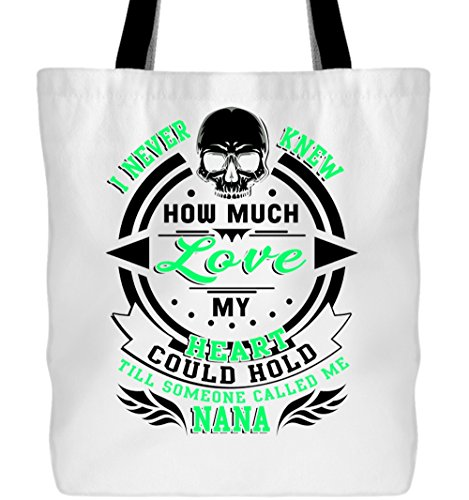 How Much Love Canvas Tote Bags, Someone Called Me Nana Tote Bags (Tote Bags - (Day After Halloween Is Called)