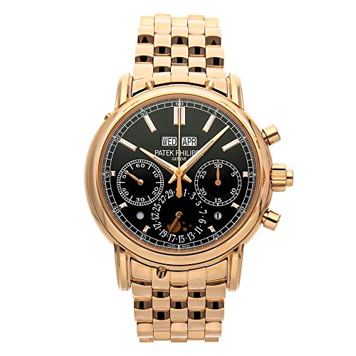 1c33e7be106 Patek Philippe Grand Complications Mechanical (Hand-Winding) Black Dial Mens  Watch 5204/. found at Amazon