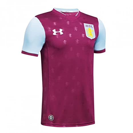 sale retailer c7611 dbe5b Under Armour Aston Villa FC Childrens Football Shirt Home Claret Jersey  2017-18
