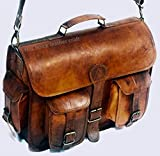 Leather Messenger Handmade Bag Laptop Bag Satchel Bag Padded Messenger Bag School Bag