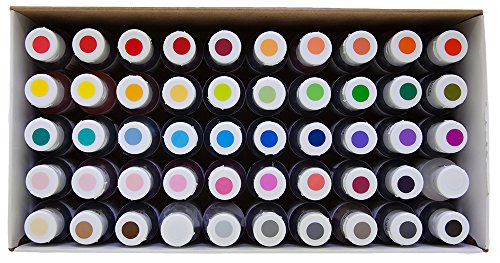 Food Coloring AmeriColor Nifty - Fifty Kit .75 Ounce Soft Gel Paste - 50 Pack by AmeriColor (Image #1)