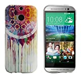 Tonsee Soft TPU Case Cover for HTC ONE M8 (Dream Catcher)