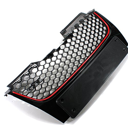 Front Bumper Grille with The GTI Badge for Vw Mk5 Golf GTI Gt (Golf Iii Gt)