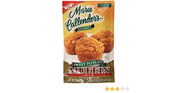 Amazon.com : Marie Callenders Gourmet Sweet Potato Muffin Mix Restaurant Style 6 Oz Pack (3 Pack) : Grocery & Gourmet Food