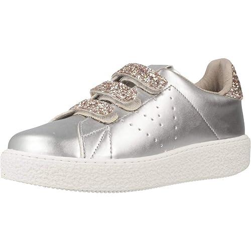 Zapatillas para niña, Color Plateado, Marca VICTORIA, Modelo Zapatillas para Niña VICTORIA 1262133 Plateado: Amazon.es: Zapatos y complementos