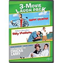 Happy Gilmore / Billy Madison / I Now Pronounce You Chuck & Larry 3-Movie Laugh Pack (1995)