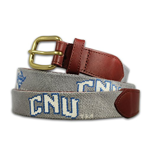 Brewster Belt Company Christopher Newport University CNU Needlepoint Belt Size 36 ()