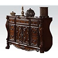 ACME 12145 Dresden Dresser, Cherry Oak Finish