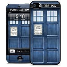 Apple iPhone 5 5S Hard Case Cover & Skin Kit - Police Box