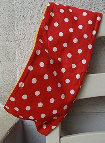 083ec6537029cf Loop Schlauchschal Schal Schlauchschal Mädchen Fliegenpilz handmade Kinder  rot weiß gepunktet