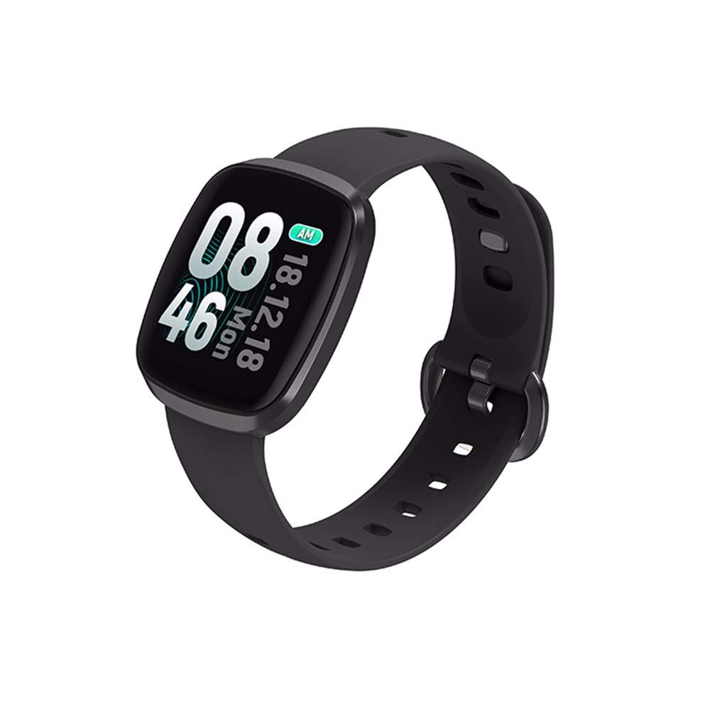 Smart Watch Sports Fitness Activity Heart Rate Tracker Blood Pressure Calories Aluminum Case with Sport Band