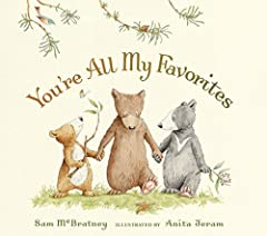 Mommy and Daddy Bear convince three worried cubs that there's plenty of love to go around in this comforting new tale from the incomparable team of Sam McBratney and Anita Jeram.Every night, while tucking in their three cubs, Mommy and Daddy ...