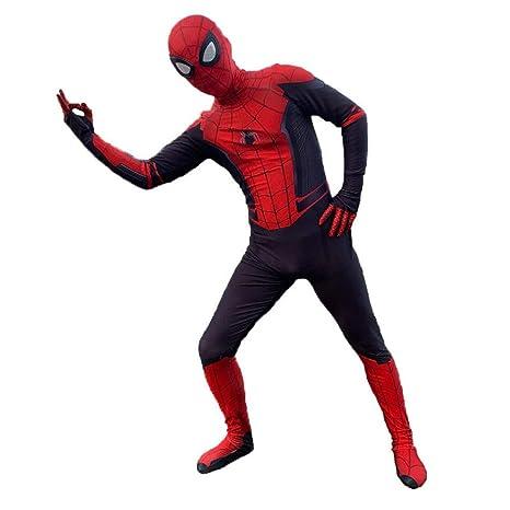 YIWANGO Adulto del Niño Disfraz De Spiderman Bola De ...