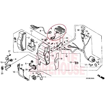 Amazon.com: 31620-ZG5-033 (20A) Genuine Honda OEM Regulator ... on honda gx wiring-diagram, polaris 850 xp wiring diagram, honda gc190 parts diagram, honda gx 610 diagrams, honda gx270 carburetor adjustment, honda gx670 parts diagram, honda gx340 parts diagram, honda gx670 carb diagram, honda gx390 governor diagram, honda gx390 motor schematic, honda 300 wiring, honda gx620 diagrams, honda gx120 parts diagram, honda gx690 parts diagram, honda gx160 parts diagram, honda gx390 parts diagram, gx670 electrical diagram, honda gx160 torque settings,