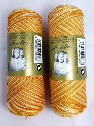 ▷ Pack de 2 Zepelines Ne 12/2 color amarillo 28 multicolor de ...