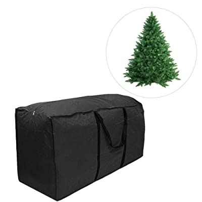 Cushion Storage Bag, Oversized Waterproof Lightweight Portable Cushion Premium Outdoor Cover Durable and Water Resistant Fabric Multi-Function Storage Bag S M L Black : Garden & Outdoor
