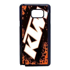 Samsung Galaxy Note 5 Cell Phone Case Black Ktm Racing Logo Custom Case Cover A11A569867