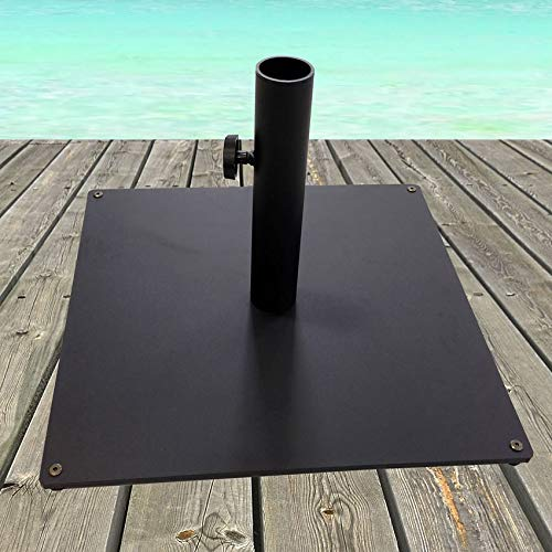Tropishade Steel Plate Umbrella Base, 36 lbs, Black by Tropishade (Image #4)