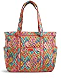 Vera Bradley Get Carried Away Tote Paisley In Paradise For Sale