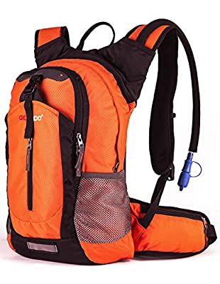 Gelindo Insulated Hydration Backpack Pack with 2.5L BPA Free Bladder - Keeps Liquid Cool up to 4 Hours, Water Backpack for Hiking Camping Cycling Running, 18L …