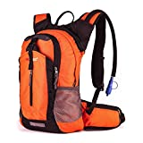 Lightweight Daypack by Gelindo, Durable Hydration Pack With 2.5L Water Reservoir for Travel Hiking Running Cycling School, Cooler Bag Keep Liquid For At Least 4 Hours, 18L
