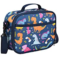 Momcozy Kids Lunch Bag for Boys and Girls, Insulated Lunch Kit for School and Travel, Compatible with Most Kids Lunch Box like Bentgo, DaCool, Bento, etc.