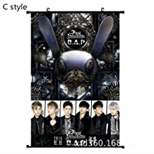 BAP Kpop poster Flipped poster Official style merchandise accessories gift