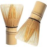 Chasen/Batidor Para Matcha Hecho de 100% De Bambú Con 100 Cerdas Para Batir Y Espumar Té Verde Matcha